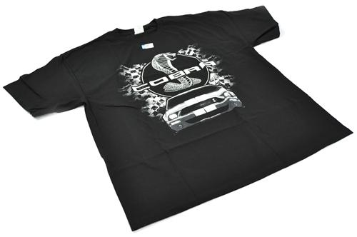 Ford Mustang Cobra T-Shirt, Large Black