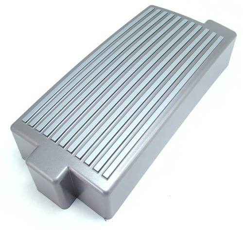 Mustang Fuse Box Cover Finned Silver (05-09)
