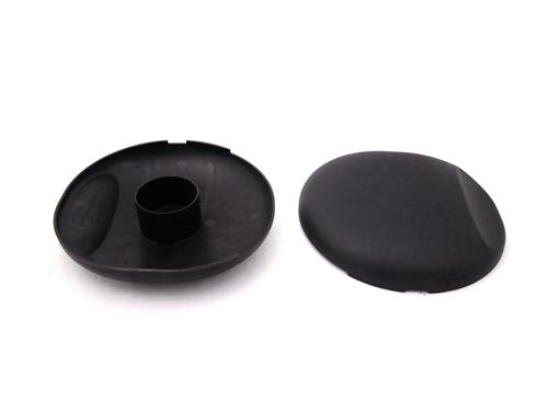 Mustang Strut Tower Covers Black Textured (05-14)