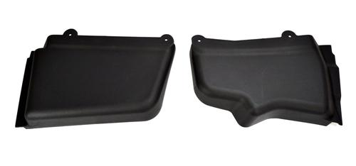 Mustang Battery & Master Cylinder Cover Kit Black (05-14)
