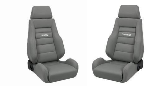 Corbeau Mustang GTS 2 Seat Pair Gray Cloth