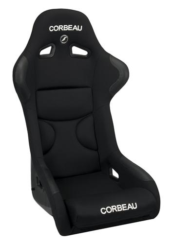 Corbeau Mustang FX1 Seat Black Cloth - Picture of Corbeau Mustang FX1 Seat Black Cloth