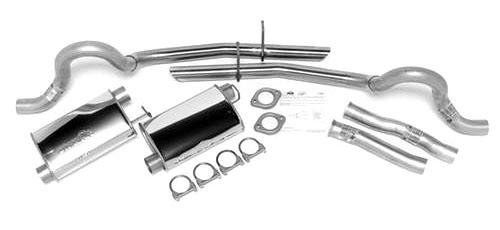 Dynomax Mustang Ultra Flo SS Cat Back Exhaust Kit (94-95) GT-Cobra - Picture of Dynomax Mustang Ultra Flo SS Cat Back Exhaust Kit (94-95) GT-Cobra