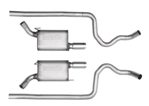 "2005-09 Mustang GT Dynomax Ultra Flo Welded  2 1/2"" Cat Back Exhaust System - Picture of 2005-09 Mustang GT Dynomax Ultra Flo Welded  2 1/2"" Cat Back Exhaust System"