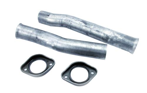 "79-04 Mustang Dynomax 2.5"" Aluminized Steel Flowtube and Flange Kit"