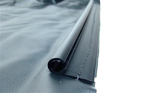 Mustang Convertible Top Well Liner with Extrusion (83-93)