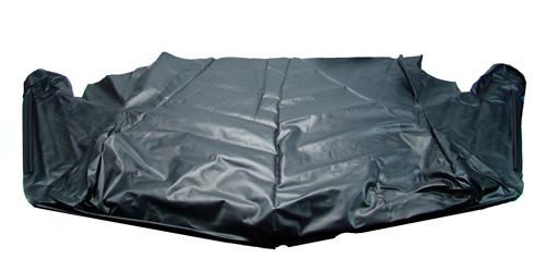 83-93 MUSTANG CONVERTIBLE TOP WELL LINER WITH EXTRUSION