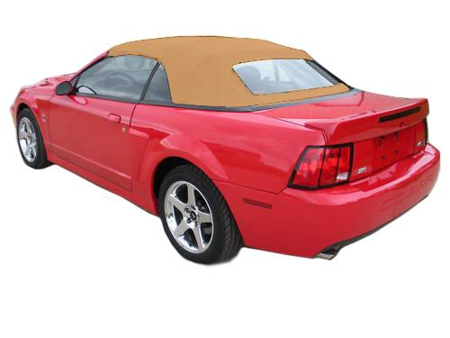 Electron Top Mustang Convertible Top Tan Cloth (03-04) Cobra