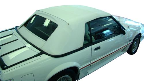 Electron Top Mustang Convertible Top White (83-90)