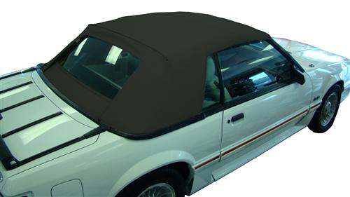 Electron Top Mustang Convertible Top Black (91-93)