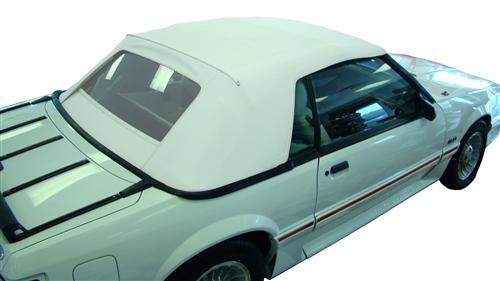 Electron Top Mustang Convertible Top Bright White (1993)