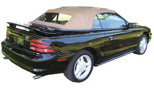 Electron Top Mustang Convertible Top Tan (95-98)