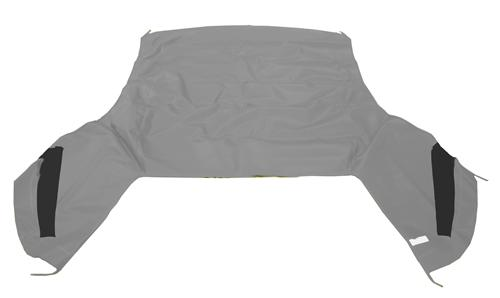 Mustang Electron Top Convertible Top White (95-00)