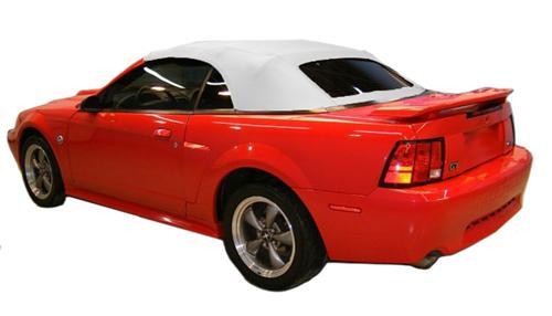 Electron Top Mustang Convertible Top White (01-04) Except Cobra