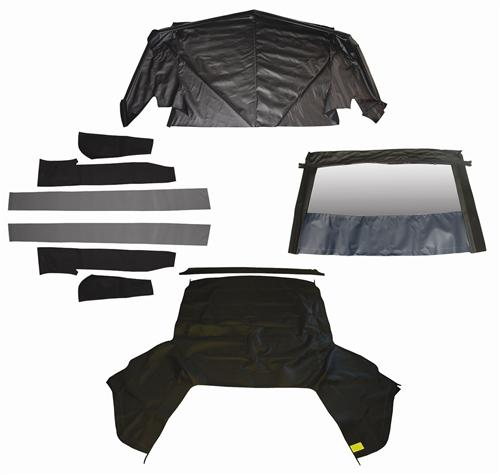 Mustang Black Convertible Top Kit (1993)