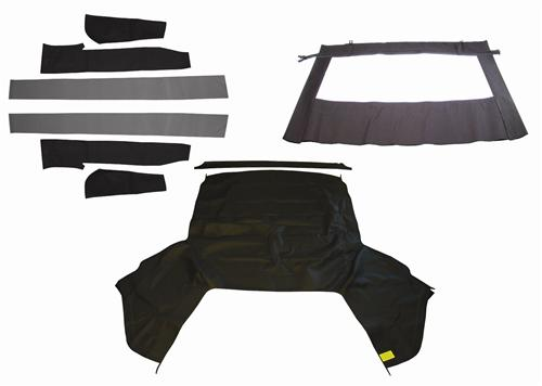 Mustang Economy Black Convertible Top Kit (83-90)