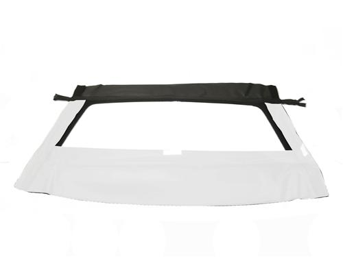 Mustang Convertible Glass Window Bright White w/ Velcro  (1993)