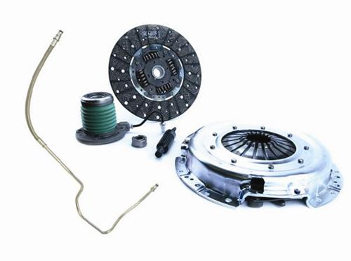 "2005-10 Mustang Exedy Stage 2 11"" 26Spline Clutch Kit with Ford Racing Clutch Fluid Line Upgrade  Exd-07803Csc And M7512a"