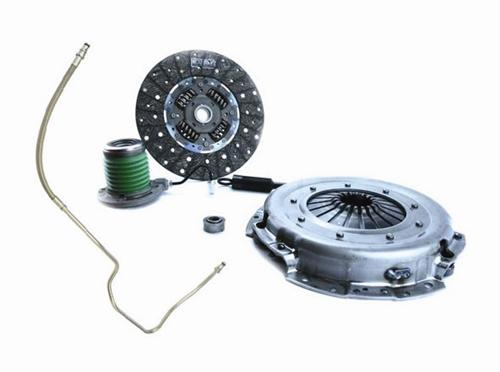 "2005-10 Mustang Exedy Stage 1 11"" 26 Spline Clutch Kit with Ford Racing Fluid Line Upgrade  Exd-07806Csc And M7512a"