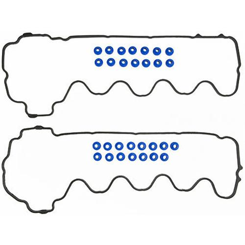 Mustang Valve Cover Gasket Set with Bolt Hole Grommets (05-10) GT 4.6L 3V