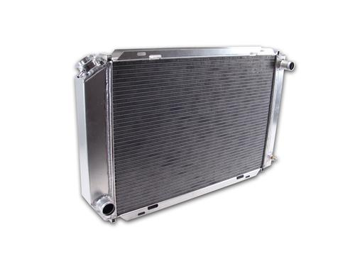 Fluidyne  Mustang 3 Row Aluminum Radiator with  Automatic Transmission  (79-93)