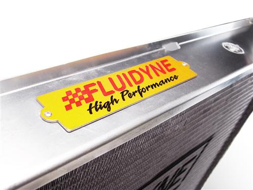 Fluidyne  Mustang 3 Row Aluminum Radiator with Manual Transmission (94-95)