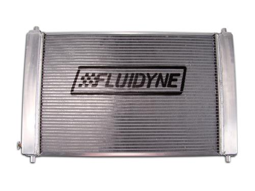 Fluidyne  Mustang 3 Row Aluminum Radiator with Manual Transmission (97-04)