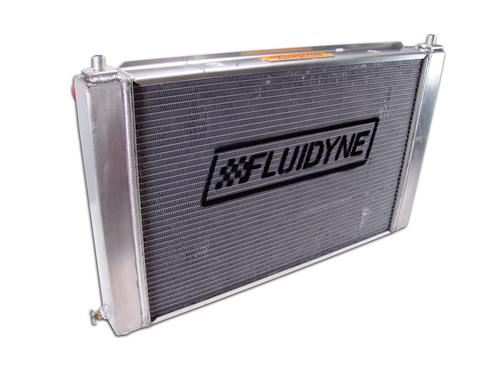 Fluidyne  Mustang 3 Row Aluminum Radiator with  Automatic Transmission  (97-04)
