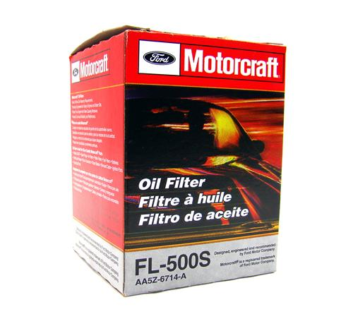 Motorcraft Mustang Engine Oil Filter (11-14) FL500S