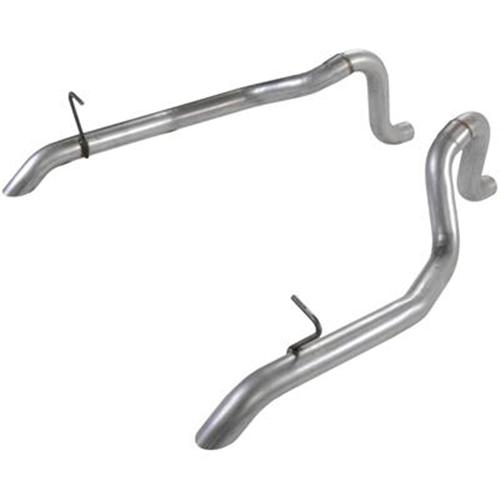 "Flowmaster Mustang Aluminized Tailpipes 2.5"" (87-93) GT 5.0"