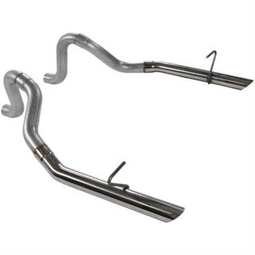"Flowmaster Mustang Aluminized Tailpipes with Stainless 2.5"" Tips (94-97) GT-Cobra"