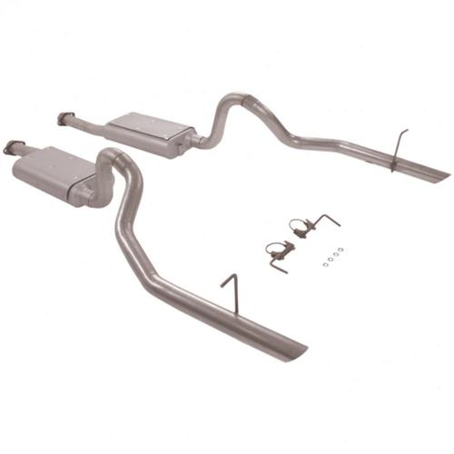 94-97 MUSTANG GT/COBRA FLOWMASTER FORCE II CAT BACK EXHAUST SYSTEM - 94-97 MUSTANG GT/COBRA FLOWMASTER FORCE II CAT BACK EXHAUST SYSTEM