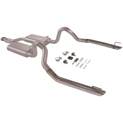 1998 MUSTANG 3.8L V6 FLOWMASTER FORCE II CAT BACK EXHAUST SYSTEM
