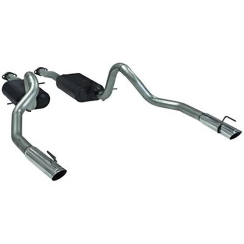 Flowmaster Mustang American Thunder Cat Back Exhaust System (99-04) GT-Mach 1 17312