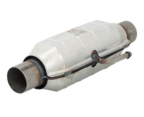 1986-1993 Mustang Flowmaster California Legal Catalytic Converter, CA EO # D-280-96,  Fits in Following locations on stock Mid-pipe RH Front LH Front RH Rear LH Rear - 1986-1993 Mustang Flowmaster California Legal Catalytic Converter, CA EO # D-280-96,  Fits in Following locations on stock Mid-pipe RH Front LH Front RH Rear LH Rear