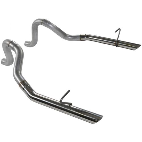 "Flowmaster Mustang 2.5"" Stainless LX Tailpipes (86-93) GT -LX-Cobra"