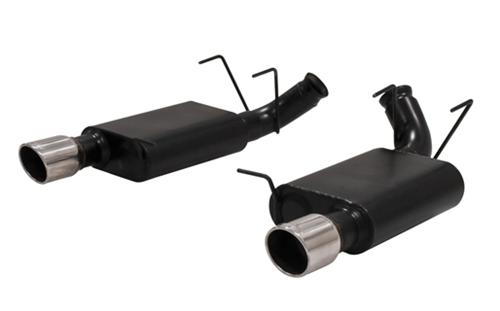 Flowmaster Mustang American Thunder Axle-Back Exhaust System (11-14) GT-GT-500 5.0L 5.4L 817496 - Picture of Flowmaster Mustang American Thunder Axle-Back Exhaust System (11-14) GT-GT-500 5.0L 5.4L 817496