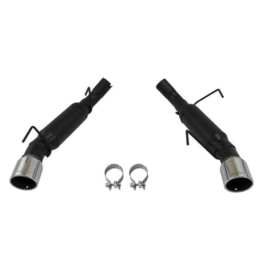 2005-10 Mustang Flowmaster GT/GT500 Outlaw Axle-Back Exhaust Kit - Picture of 2005-10 Mustang Flowmaster GT/GT500 Outlaw Axle-Back Exhaust Kit