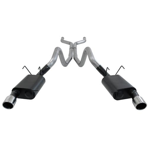 13-14 Mustang GT 5.0L Flowmaster American Thunder Cat-Back Exhaust Kit