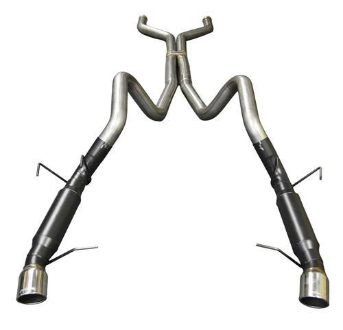 Flowmaster Mustang Outlaw 409S Stainless Cat Back Exhaust Kit (13-14) 817590