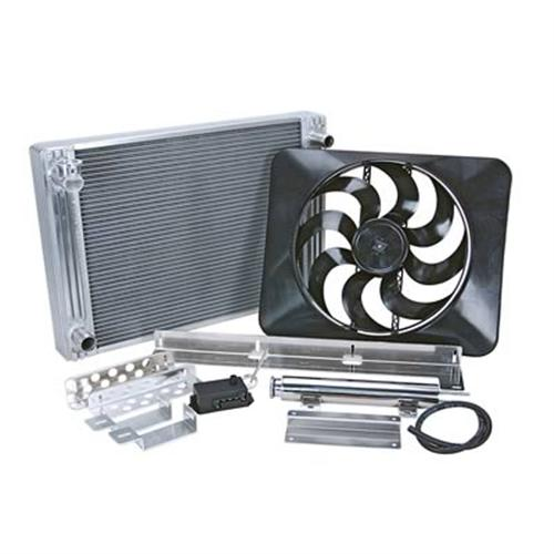 Flex-A-Lite  Mustang Radiator And Fan Kit (79-93) 5.0 5.8