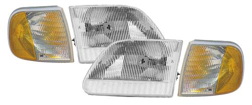 SVT Lightning Headlight Kit (99-00) - Picture of SVT Lightning Headlight Kit (99-00)