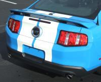 Mustang Lemans Stripes (Hood Scoop) White (10-12)