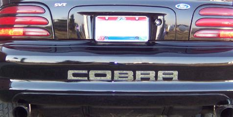 1996-98 MUSTANG COBRA REAR BUM