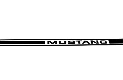 Mustang Side Stipes Black (79-04)