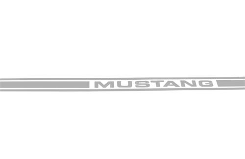 Mustang Side Stipes Silver (79-04)