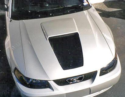 99 MUSTANG BLACK 35TH ANNIVERSARY HOOD DECAL