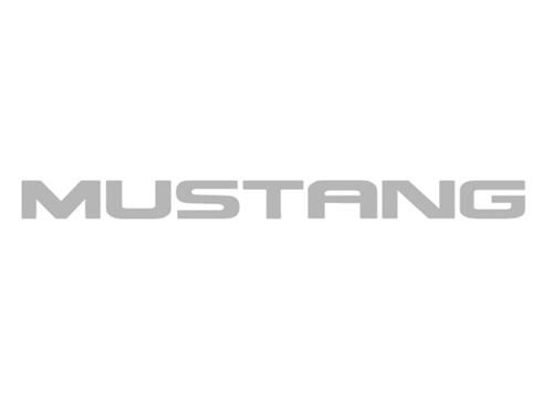 Mustang Windshield Banner Silver (94-04)