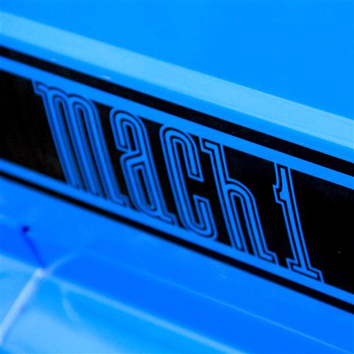 Mustang Mach 1 Side Stipes Matte Black (03-04)
