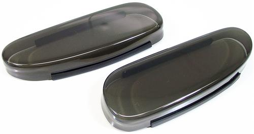 1994-98 Mustang Smoked Driving Lite Cover - 1994-98 Mustang Smoked Driving Lite Cover
